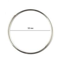 Кольцо металлическое TSW 50х3мм никель