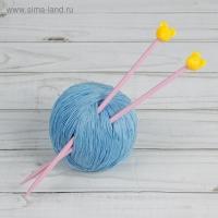 Спицы для вязания Мышки, детские, прямые, 20см