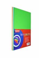 Цветная бумага плотность 80 гр., ассорти