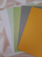 Бумага дизайнерская 20х30см ассорти 2, набор 5 листов