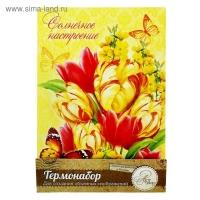 Термонабор для создания объемной картины Тюльпаны