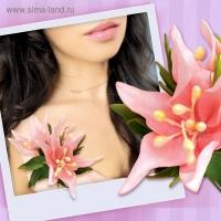 Набор для создания броши из фоамирана Цветок кактуса