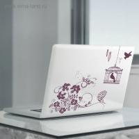 Наклейки для ноутбуков Стремись к своей цели, 22 х 42 см