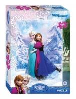 Степ пазл Мозаика puzzle 104 (Disney) Холодное сердце