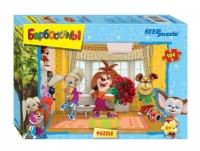Степ пазл Мозаика puzzle 104 (Disney) Барбоскины