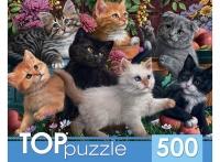 Пазлы TOP РК Эконом 500 эл. Игривые котята
