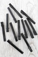 Зажим металлический 5,5 см, Q27-1B, черный
