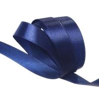 Лента атласная, 12 мм, 1 м в ассортименте (3165 синий)
