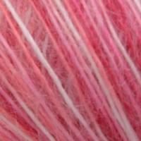 Пряжа Сеам Ангора фине принт (Пряжа Сеам Ангора фине принт, цвет 332 белый/светло-розовый/карамельный/малиновый)