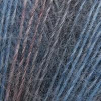 Пряжа Сеам Ангора фине принт (Пряжа Сеам Ангора фине принт, цвет 843 серо-синий/джинсовый/кофейный)