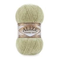 Пряжа Ализе Ангора Голд (267 пастельно-зеленый)