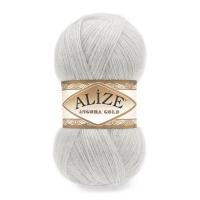 Пряжа Ализе Ангора Голд (362 облачно-серый)