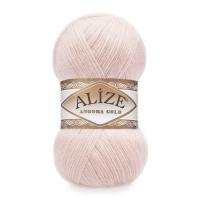 Пряжа Ализе Ангора Голд (271 жемчужно-розовый)