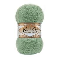 Пряжа Ализе Ангора Голд (707 тем.коричневый)