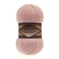 Пряжа Ализе Ангора Голд симли (363 светло-розовый)