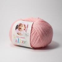Пряжа Ализе Беби Вул (194 розовый)