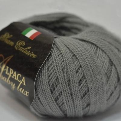 Пряжа Сеам Альпака бэйби люкс (Пряжа Сеам Альпака бэйби люкс, цвет 12 средне-серый)