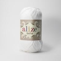 Пряжа Ализе Белла (55 белый)