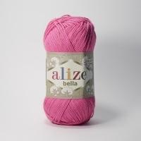Пряжа Ализе Белла (489 ярко-розовый)