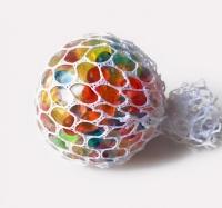 Мяч-антистресс в сетке, диаметр 6 см