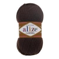 Пряжа Ализе Кашемир (92 коричневый)