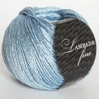 Пряжа Сеам Ламбада фине (Пряжа Сеам Ламбада фине, цвет 24 голубой)
