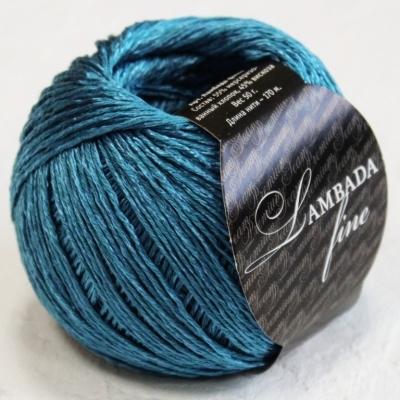 Пряжа Сеам Ламбада фине (Пряжа Сеам Ламбада фине, цвет 14 морская волна)