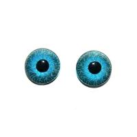 Глазки №8 1,0 см голубые