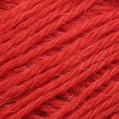 Пряжа Сеам Альпака перуана (Пряжа Сеам Альпака перуана, цвет 3580 яркий кирпично-красный)