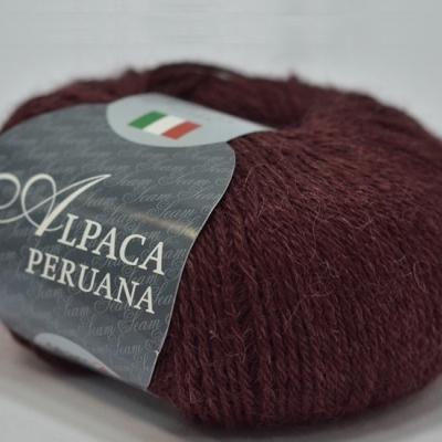 Пряжа Сеам Альпака перуана (Пряжа Сеам Альпака перуана, цвет 3975 красный виноград)