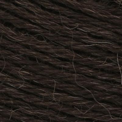 Пряжа Сеам Альпака перуана (Пряжа Сеам Альпака перуана, цвет 404 горький шоколад)