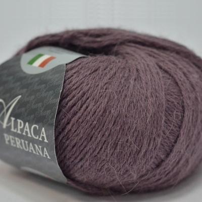 Пряжа Сеам Альпака перуана (Пряжа Сеам Альпака перуана, цвет 4300 аметистовый)