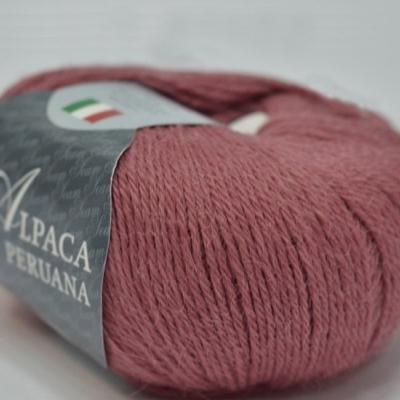 Пряжа Сеам Альпака перуана (Пряжа Сеам Альпака перуана, цвет 3340 глубокий тёплый розовый)