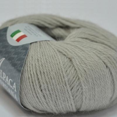 Пряжа Сеам Альпака перуана (Пряжа Сеам Альпака перуана, цвет 5110 светло-серый)