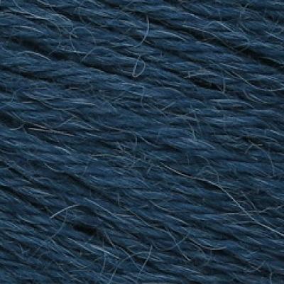 Пряжа Сеам Альпака перуана (Пряжа Сеам Альпака перуана, цвет 6669 глубокий синий с зелёным отливом)