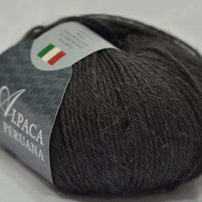 Пряжа Сеам Альпака перуана (Пряжа Сеам Альпака перуана, цвет 505 графитовый серый)