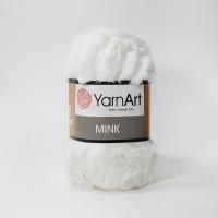 Пряжа YarnArt Mink (330 молоко)