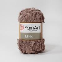 Пряжа YarnArt Mink (332 св.коричневый)