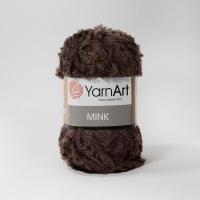 Пряжа YarnArt Mink (333 коричневый)