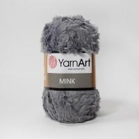 Пряжа YarnArt Mink (335 серый)