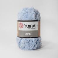 Пряжа YarnArt Mink (351 небесный)