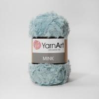 Пряжа YarnArt Mink (348 серо-голубой)