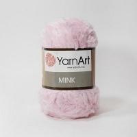 Пряжа YarnArt Mink (347 розовый)
