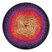 Пряжа YarnArt Flowers (265 горчица/красный/фиолет)