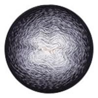 Пряжа YarnArt Flowers (253 серый/черный)