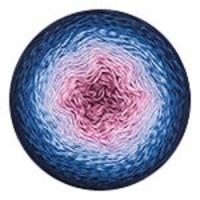 Пряжа YarnArt Flowers (273 синий/голубой/розовый)