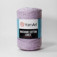 Пряжа YarnArt Macrame Cotton Lurex (734 сиреневый)