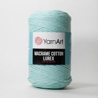 Пряжа YarnArt Macrame Cotton Lurex (738 бирюзовый)