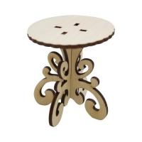 Деревянная заготовка Круглый стол 6х6,5 см