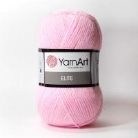 Пряжа YarnArt Elite (20 розовый)
